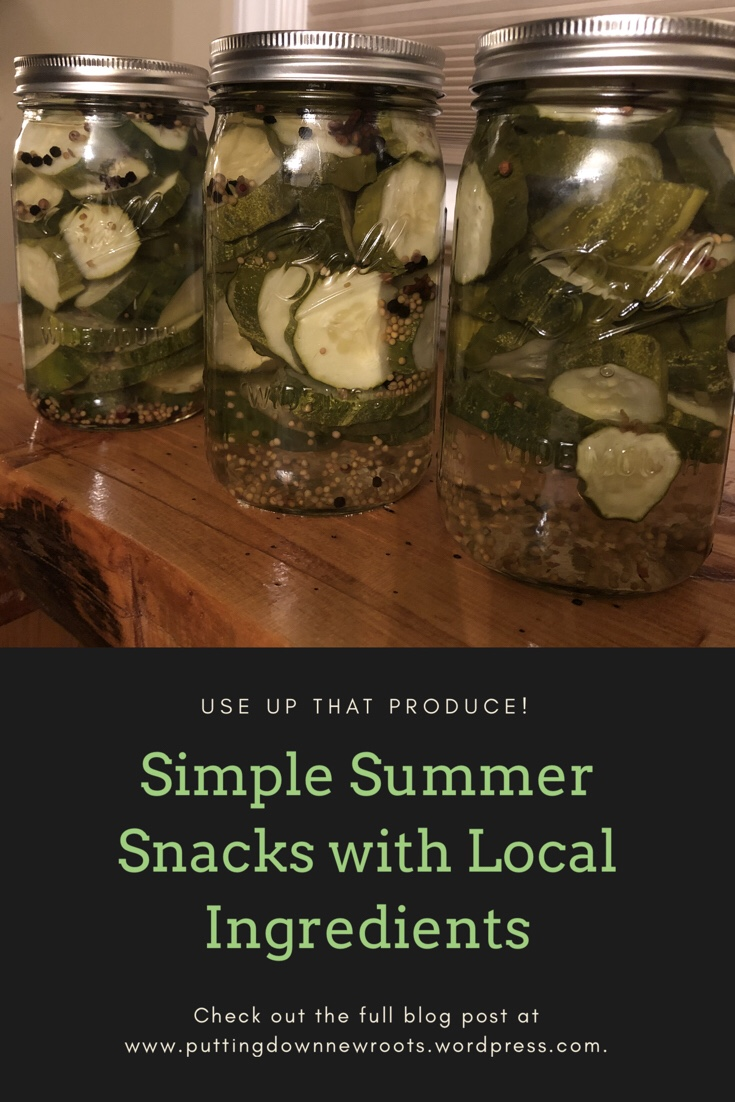 Simple, kid-approved summer snacks that can easily be made with local ingredients!