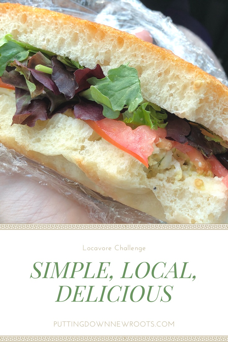 Local, simple ingredients can turn a quick meal into a savory experience.